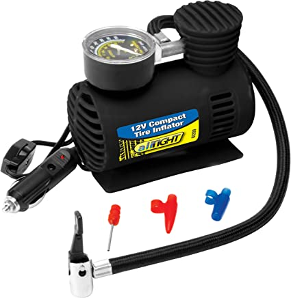 Performance Tool 60399 12V Compact Tire Inflator 12V Compact Tire Inflator