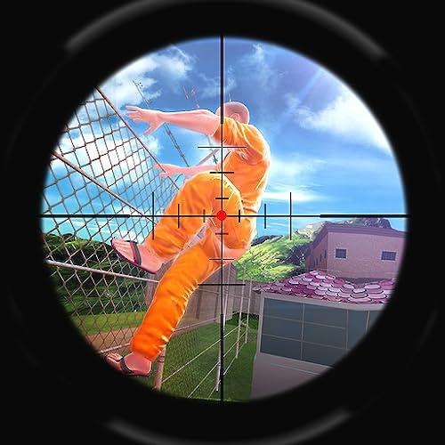 Polizei Gefängnis Flucht Sniper Survival Simulator Mission des Gefängnisses Criminal: Gefangener Gefängnis Breakout Gefangenen Aktion spannende Abenteuer Sim Spiele für Kinder frei