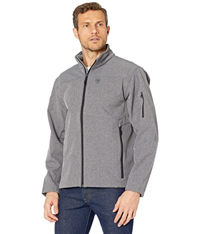 Ariat Vernon 2.0 Softshell Jacket (Charcoal) Men