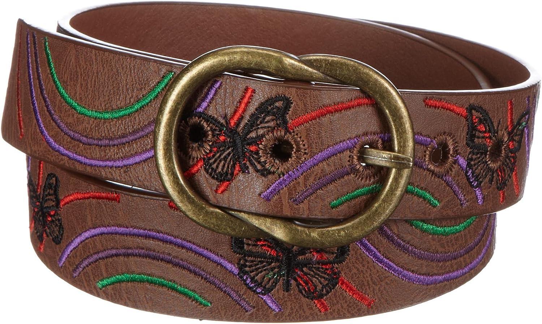 Desigual Cint Bordado Mariposas Belt 27X5308 6047