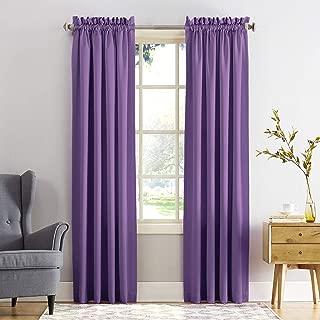 Sun Zero Barrow Energy Efficient Rod Pocket Curtain Panel, 54
