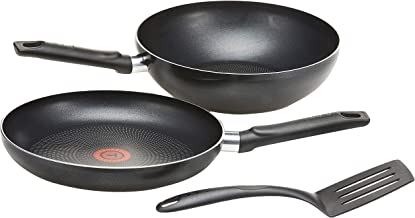 Tefal Issencia Pro 3pc Set (Includes Frypan, 26cm and Wokpan, 26cm and Spatula)