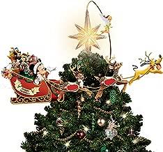 mickey sleigh tree topper