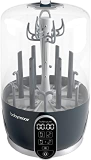 Babymoov Turbo Pure Sterilizer Dryer | Patented Purified Sterilization, Fast & Clean Drying, Bottle Storage and Easy Use (Eliminates 99.9% of Bacteria)