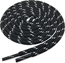 YFINE Mixed Color Round Outdoor Climbing Basketball Shoe Laces Athletic Shoelaces(2 Pair)