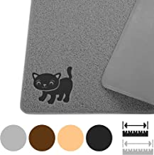 Smiling Paws Pets Cat Litter Mat, BPA Free, XL Size 35