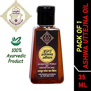Luxurious Ayurvedic Gold Ashwa Uttejna Oil with natural ingredient for Men's