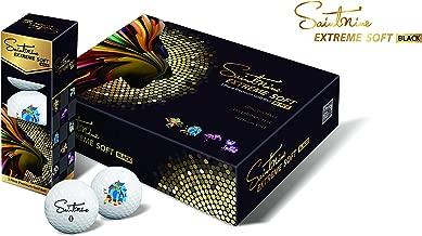 SAINTNINE Extreme Soft Black Golf Balls