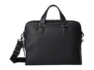 Tumi Harrison Bradford Brief (Black 1) Briefcase Bags