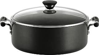 Circulon 82542 Acclaim Hard Anodized Nonstick Stock Pot/Stockpot with Lid, 7.5 Quart, Black