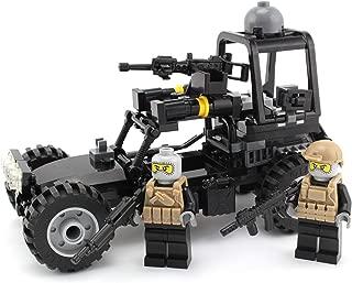Battle Brick Navy Seal Desert Patrol Vehicle Custom Set