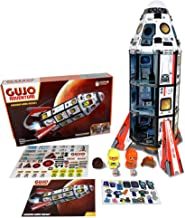 GUJO Adventure Mars Mission Rocket Kids Play Set, Build-Your-Own Space Toy - STEM Toy for Boys Ages 7-11
