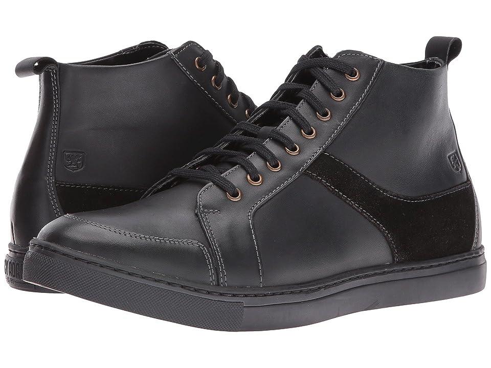 Stacy Adams Winchell Moc Toe Lace Boot (Black) Men