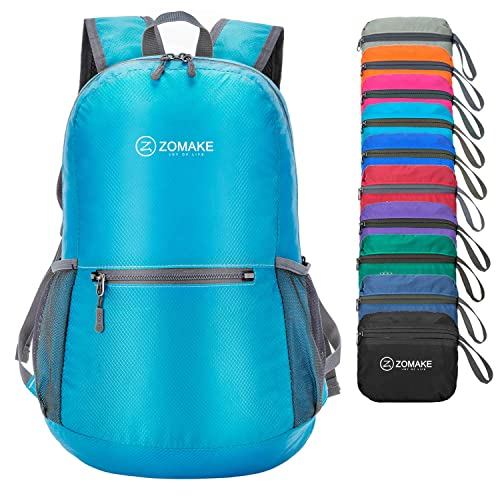 0ec0fae0892c ZOMAKE Ultra Lightweight Foldable Backpack Water Resistant Hiking Daypack
