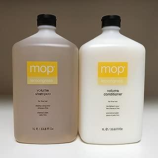 MOP Lemongrass Volume Shampoo and Conditioner, Duo Set