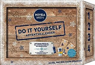NIVEA MEN Adventskalender 2021 für 24 einzigartige Verwöhnmomente, Weihnachtskalender mit ausgewählten Pflegeprodukten & A...
