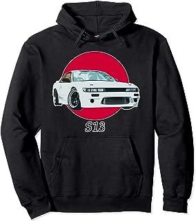 Silvia s13 240sx Drift Race Car Graphic Hoodie Enthusiast
