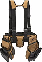 Dickies Work Gear – 4-Piece Carpenter's Rig – 57023 – Tool Belt Suspenders –..
