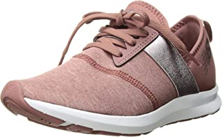 New Balance Women's Nergize V1 FuelCore Cross Trainer, Dark Oxcide/Champagne, 9 B US