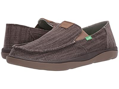 Sanuk Vagabond Tripper Slub (Dark Brown) Men