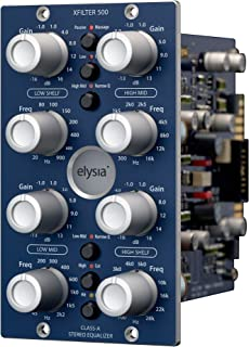 Elysia X FILTER 500 Series Class A Stereo Equalizer