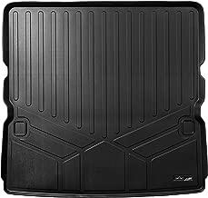 MAXLINER All Weather Cargo Liner Floor Mat Behind 2nd Row Black for 2017-2018 Nissan Armada / 2011-2013 Infiniti QX56 / 2014-2018 QX80