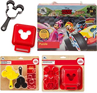 Pal Time Mealtime Compatible with Mickey Mouse Junior fun Disney Magic Collection + Sandwich molds + Ears Food Mold + Road...