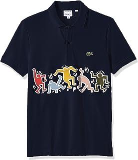 Lacoste Men's S/S Pique Graphic Polo Regular Fit
