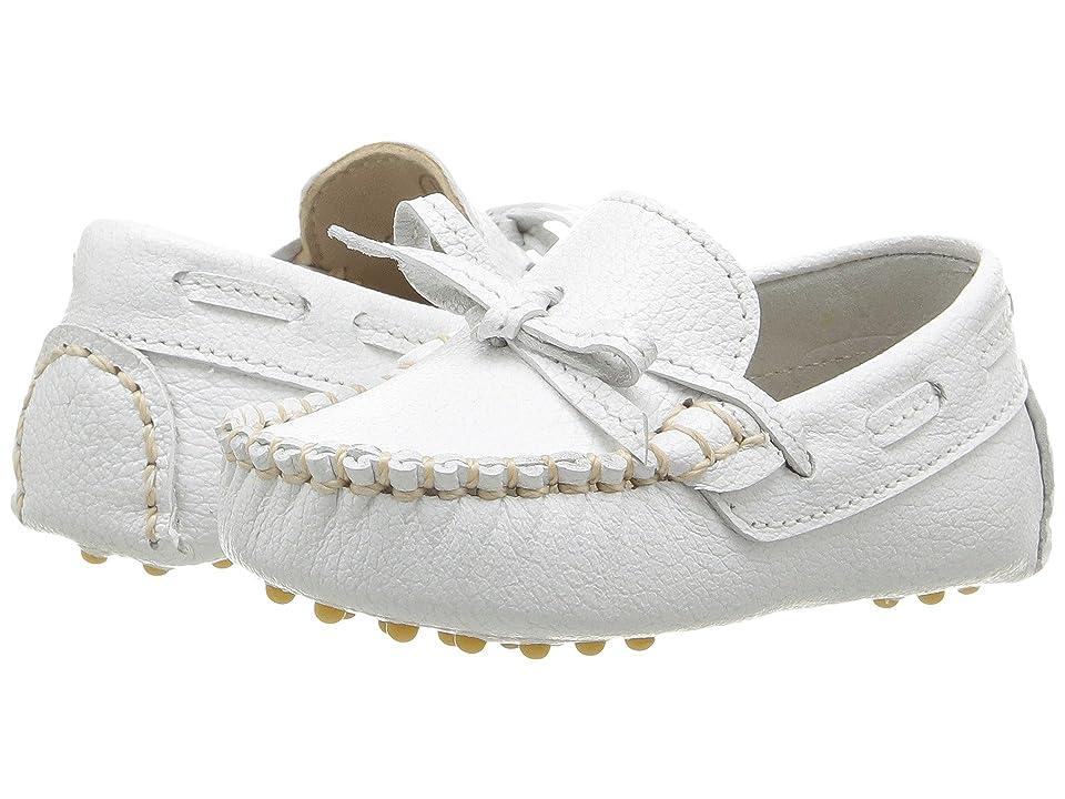 Elephantito Driver Loafers (Infant) (White) Boys Shoes