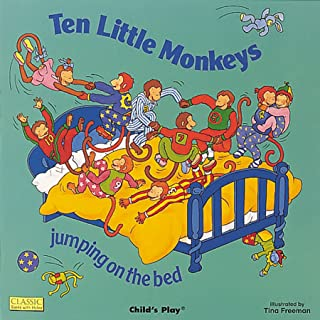 Ten Little Monkeys (Classic Books With Holes)