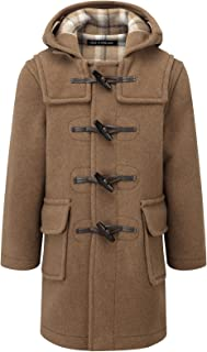 Kids Classic Duffle Coat (Toggle Coat) in Camel