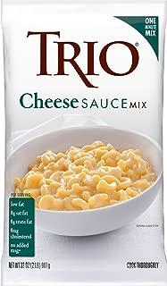 Trio Cheese Sauce Mix, Mac and Cheese, Pretzel Cheese Dip, Rich and Velvety, 32 oz Bag