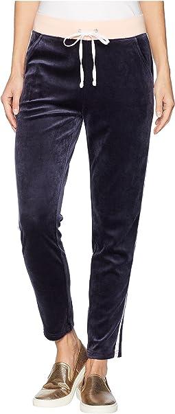 Track Lightweight Velour Stripe Pants