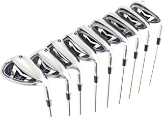 AGXGOLF Men's Magnum XS Tour Edition Stainless Steel Irons Set 3-9 Irons + Pitching Wedge + Sand Wedge: Senior, Regular or Stiff Flex; Cadet, Regular or Tall Length; Right Hand: USA Built!