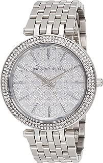 Michael Kors MK3404 Ladies Darci Silver Tone Steel Watch