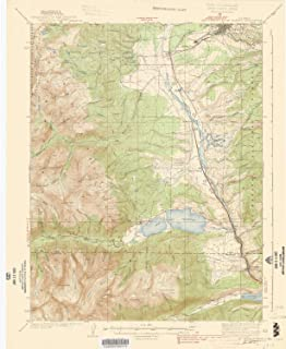 YellowMaps Mount Elbert CO topo map, 1:62500 Scale, 15 X 15 Minute, Historical, 1939, 20.5 x 16.8 in