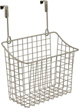 Spectrum Diversified Grid Storage Basket, Over the Cabinet, Steel Wire Sink Organization for Kitchen & Bathroom, Large, Sa...