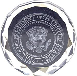 Great Seal Crystal Paperweight