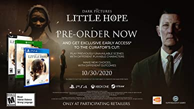 The Dark Pictures - Little Hope - Standard Edition - Playstation 4