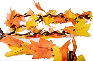 Best autumn leaves lighted garland Reviews