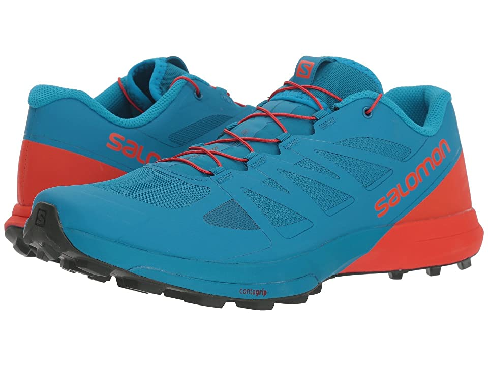Salomon Sense Pro 3 (Fjord Blue/Cherry Tomato/Urban Chic) Men's Shoes
