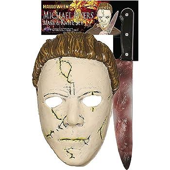 Halloween Rob Zombie Michael Myers Mask Vs Halloween 2020 Michael Myers Mask Amazon.com: Halloween (Rob Zombie) Michael Myers Resilient Mask