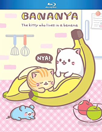 Bananya Blu-Ray(ばなにゃ バナナにひそむにゃんこ 全13話)