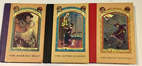 3 Books! #4,#5,#6: 1) The Miserable Mill 2) The Austere Academy 3) The Ersatz Elevator (A Series of Unfortunate Events)