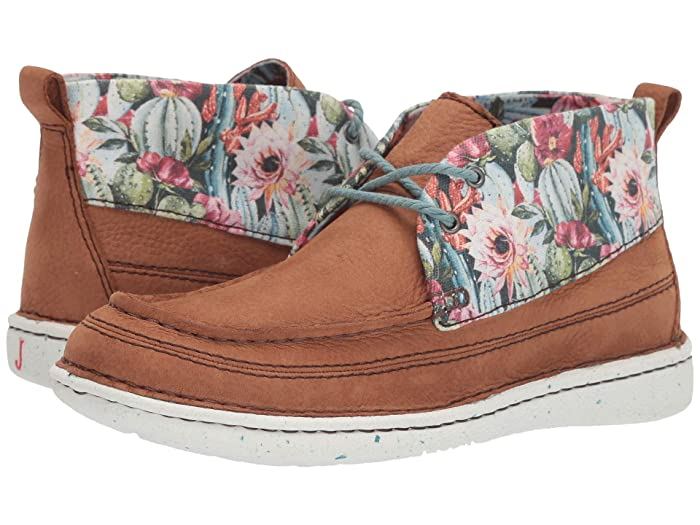 Justin Breezy Floral Booties