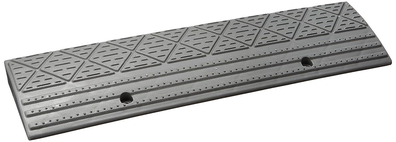 びっくりする学んだ写真を描くアイリスオーヤマ 段差 スロープ 段差プレート NDP-60AE グレー