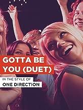 Gotta Be You (Duet)