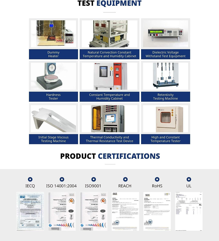 T-Global TG-A1250 Ultra Soft Thermal Pad-100-100-2.0