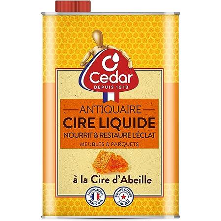 O'Cedar Cire Liquide D'Abeille Naturelle Vernis D'Entretien Meubles Et Parquets, 750ml