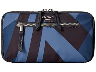 KNOMO London VA Knomad Travel Wallet (Dark Navy) Wallet Handbags